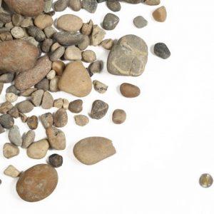"1""- 3"" Round Tile Rock"