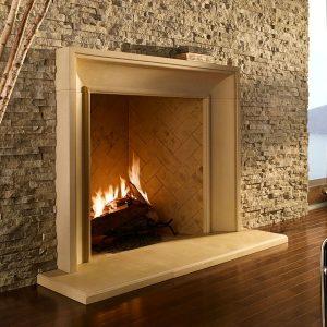 European Ledge - Cottonwood Fireplace