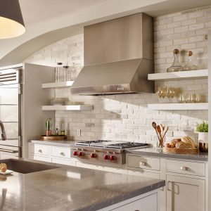 Chalk Dust Kitchen TundraBrick