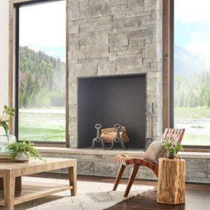 Cannonade - Cut Coursestone - Fireplace