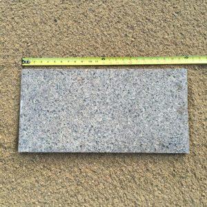 Ash Black Flamed Granite 12x24