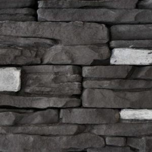Black Rundle Rustic Ledgestone