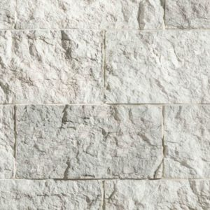 Winterfall Craft Urban Rectangle has a light, cool gray color with hints of ash gray and subtle, brighter highlights. It has a split-face texture and rectangular shape.