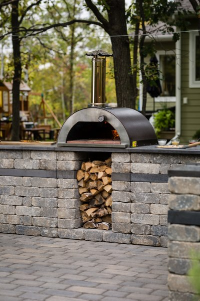 compact pizza oven
