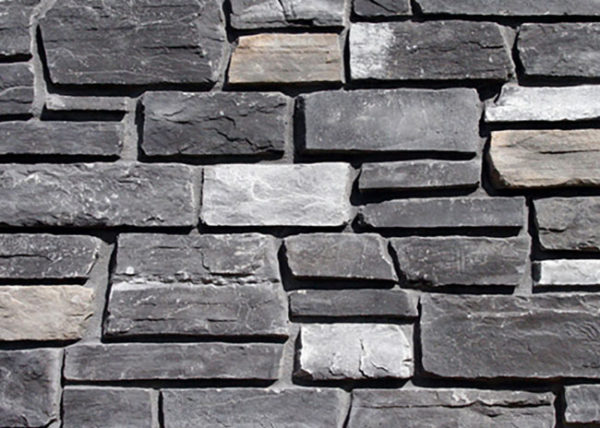 Black Rundle Tuscan Ledgestone
